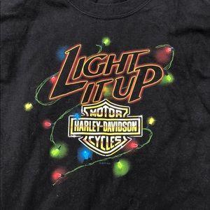 Harley Davidson Christmas T-shirt